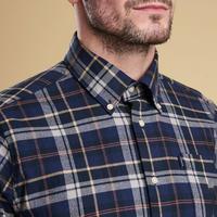 Blane Tartan Shirt Navy