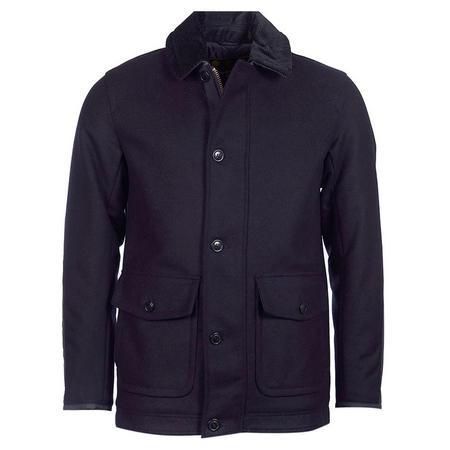 Chingle Wool Coat Navy
