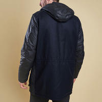 Waddow Waxed Cotton Coat Blue