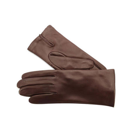 Classic Leather Gloves Red