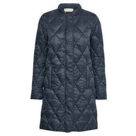 CS Ernada Quilted Coat Navy