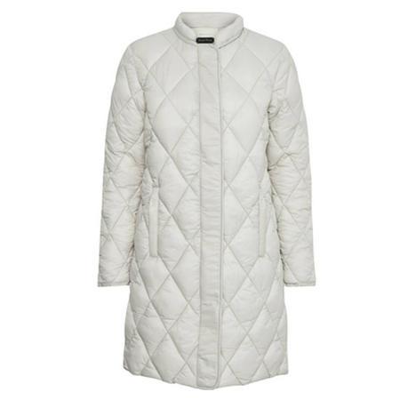 CS Ernada Quilted Coat Cream