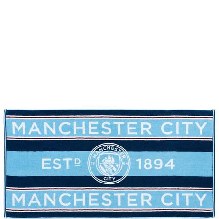 Mcfc Classic Towel Blue