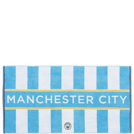 Mcfc Retro Towel Blue