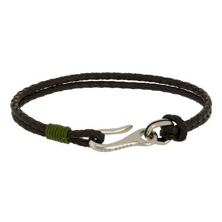 Twirl Double Strand Bracelet Green