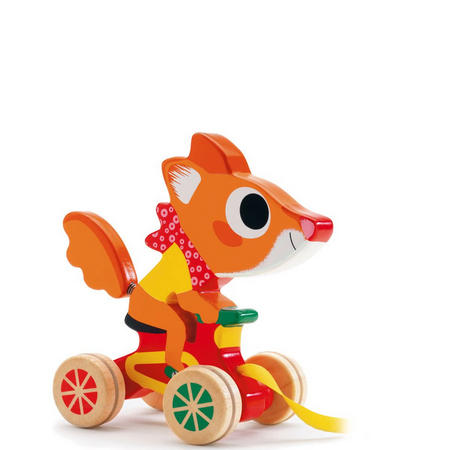 Scouic the Fox Pull Along Toy