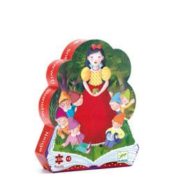 Snow White Silhouette Puzzle