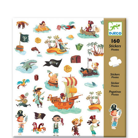 Pirates Sticker Set