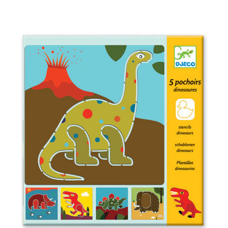 Dinosaur Stencil Set