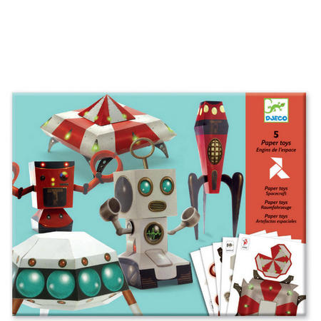 Spacecraft Paper Toys