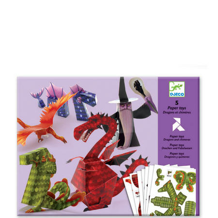 Dragons & Chimeras 3D Models Paper to Make