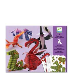 Dragons & Chimeras 3D Models Paper to Make