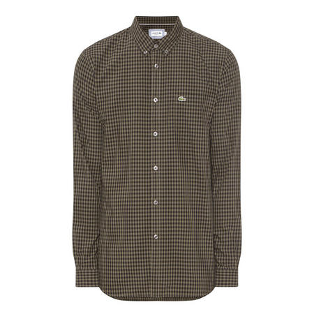 Gingham Poplin Shirt Multicolour