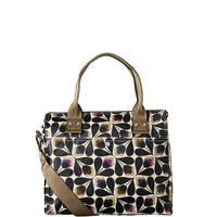 Flower Print Satchel Bag Multicolour