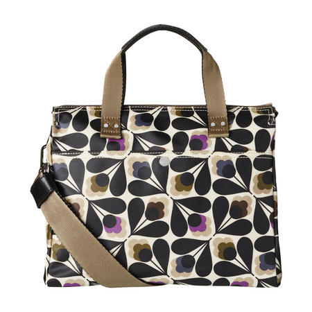 Flower Print Small Messenger Bag Multicolour