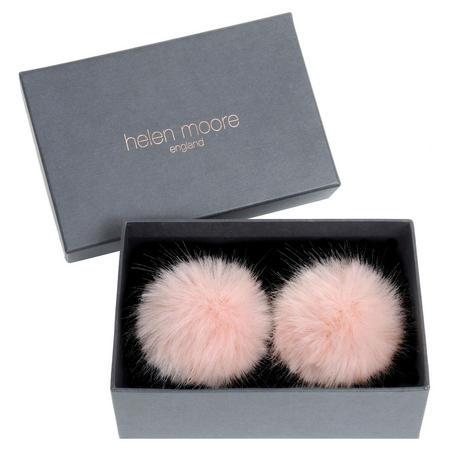 Pom Pom Shoe Clips Pink