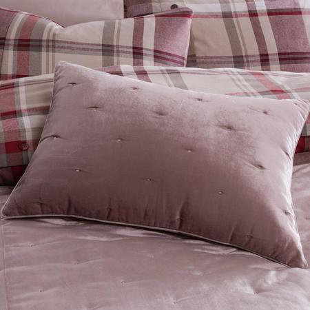 Velvet Spot Cushion Natural