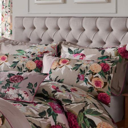 Henrietta Housewife Pillowcase Natural