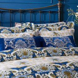 Versailles Oxford Pillowcase Blue