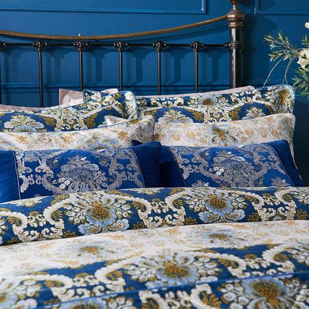 Versailles Housewife Pillowcase Blue