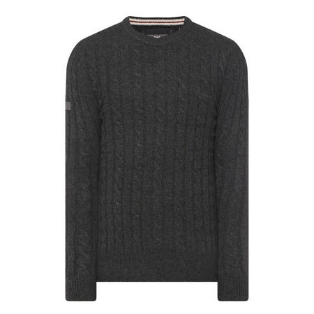 Harlo Cable Knit Sweater Green