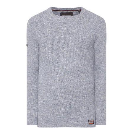 University Liner Sweater Blue