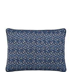 Karo Cushion Blue