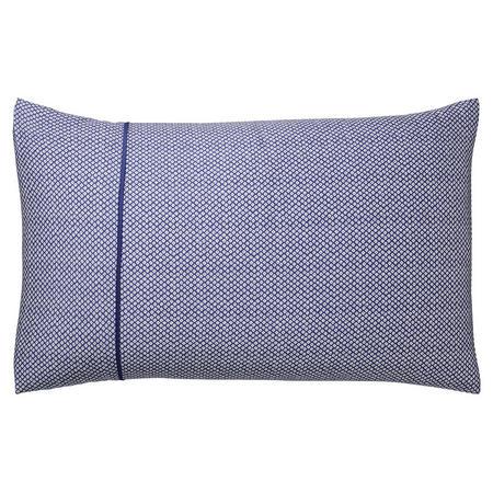 Taj Standard Pillowcase Blue