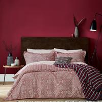 Akello Oxford Pillowcase Red