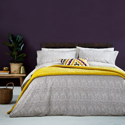 Koba Duvet Cover Grey