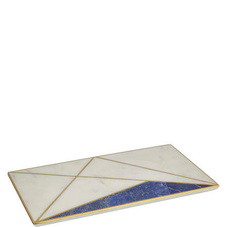 Hotel Tableware Marble and Lapis Platter
