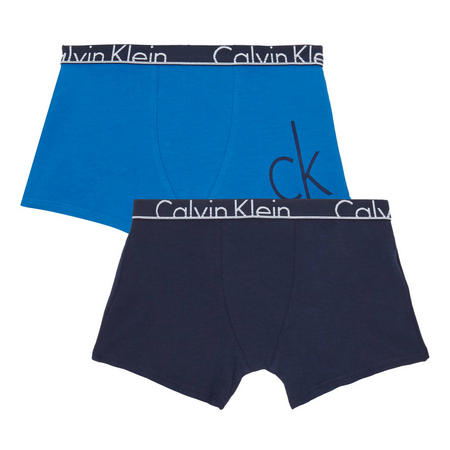 Boys Two-Pack Boxer Shorts Blue