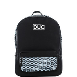 Geometric Backpack Black