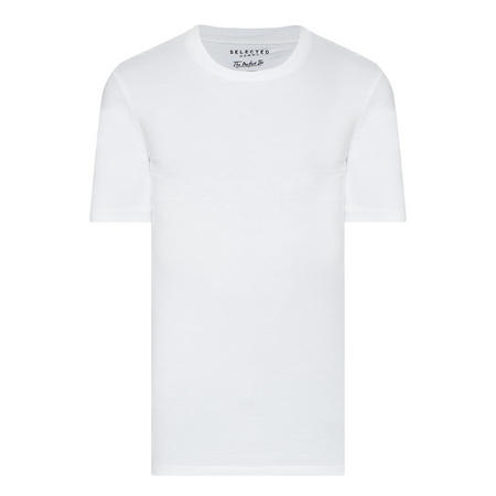 Perfect O-Neck T-Shirt White
