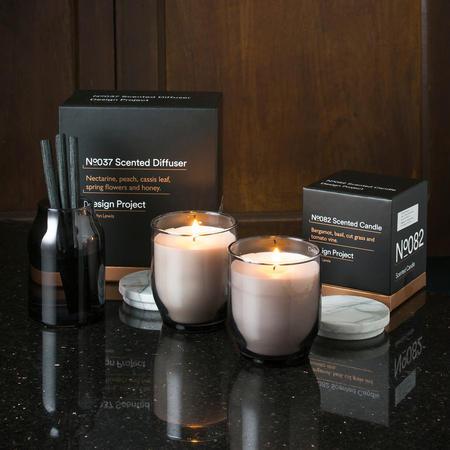 Design Project Candle N0006 Warm Oak