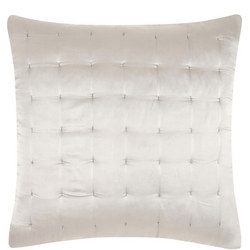 Boutique Hotel Silk Cushion Grey 65 x 65cm