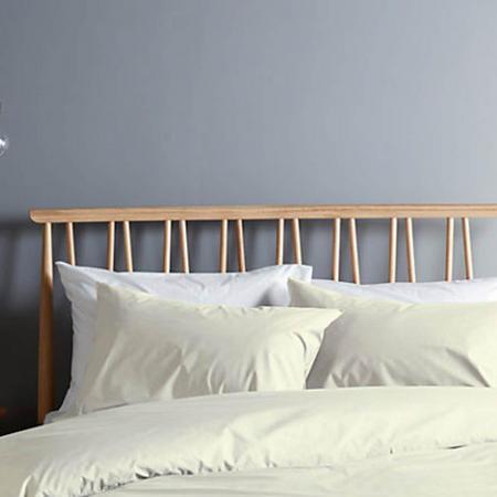 Perfectly Smooth 200 Thread Count Egyptian Cotton Oxford Pillowcase Grey