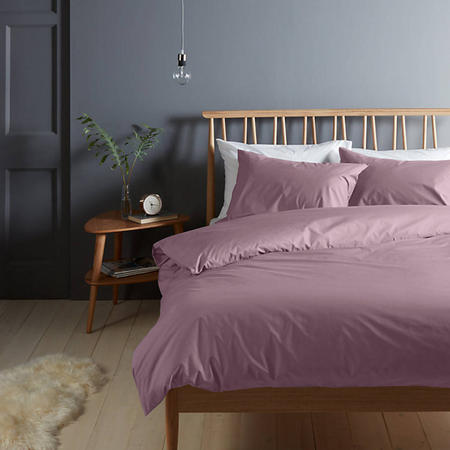 Perfectly Smooth 200 Thread Count Egyptian Cotton Flat Sheet Amethyst