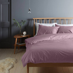 Perfectly Smooth 200 Thread Count Egyptian Cotton Fitted Sheet Amethyst