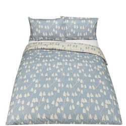 Palm Springs Lotta Duvet Cover Set Blue