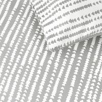 Xander Cotton Duvet Cover Set Grey