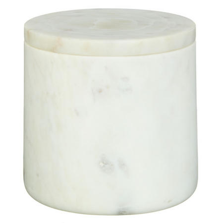 White Marble Container