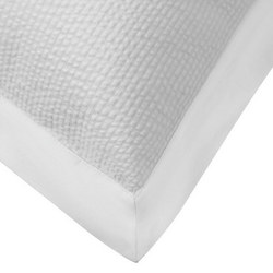 Croft Collection Baby Seersucker Oxford Pillowcase White