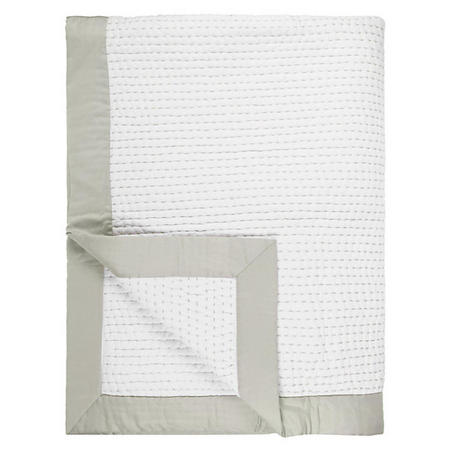 Lydia Stitch Throw White