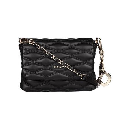 Mini Quilted Crossbody Bag Black