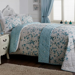 Lyla Duvet Set Blue