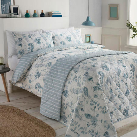Winter Wonderland Duvet Set Blue