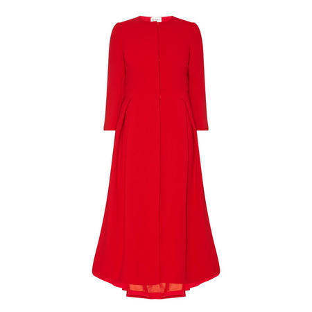 Cannes Coat Dress Red