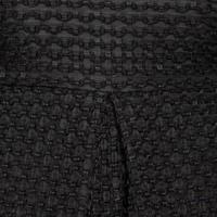 Jan Waffle Textured Dress Black