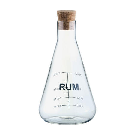 Mixology Rum Decanter Clear